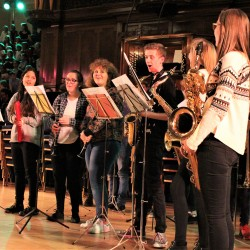 RHYO's 'Jazz Squad' performs at the Christmas concert